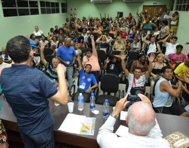 Pessoal da Prodesan em 'estado de greve'