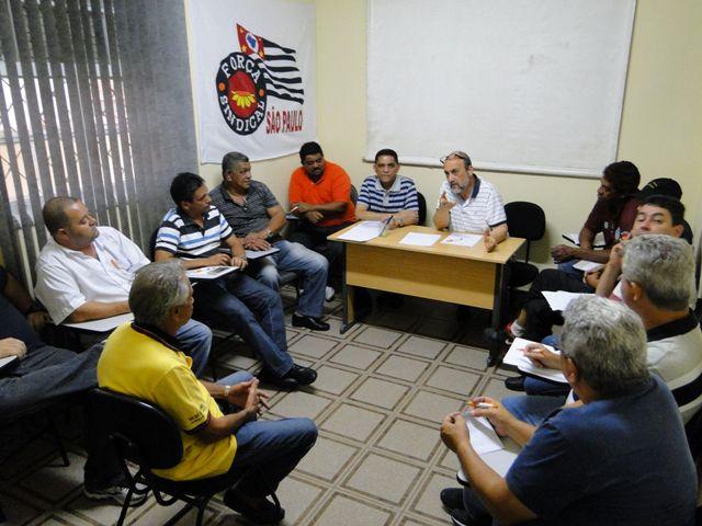 Sintracomos participa de reunião da Força Sindical Regional