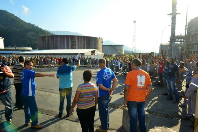 Na RPBC , 240 Trabalhadores da Tomé pararão a partir de 2ª-feira