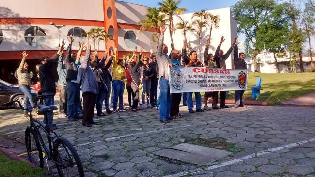 Assembleia dessa quarta (24) definiu continuidade da greve na Cursan