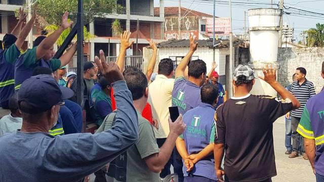 Termaq paga e  trabalhadores suspendem greve