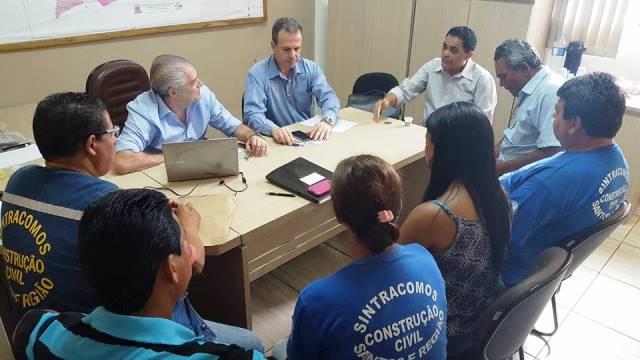 Sintracomos e Codesavi  realizam primeira reunião em São Vicente