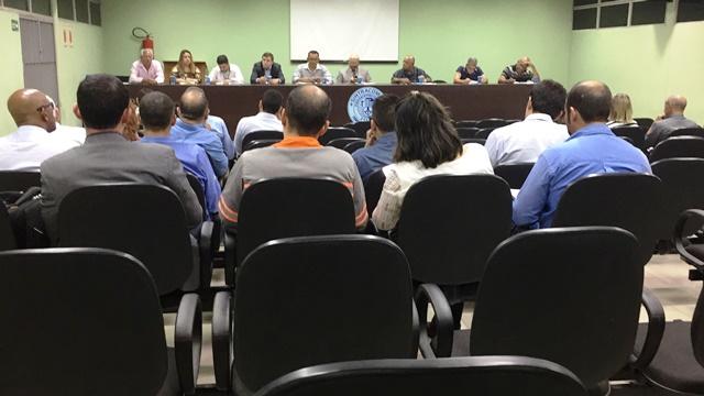 Sintracomos realiza segunda rodada de negociações com empresas do Parque Industrial