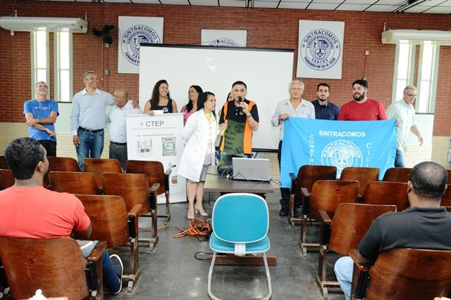 Sintracomos oferece Curso de Cuidador de Idoso em Cubatão